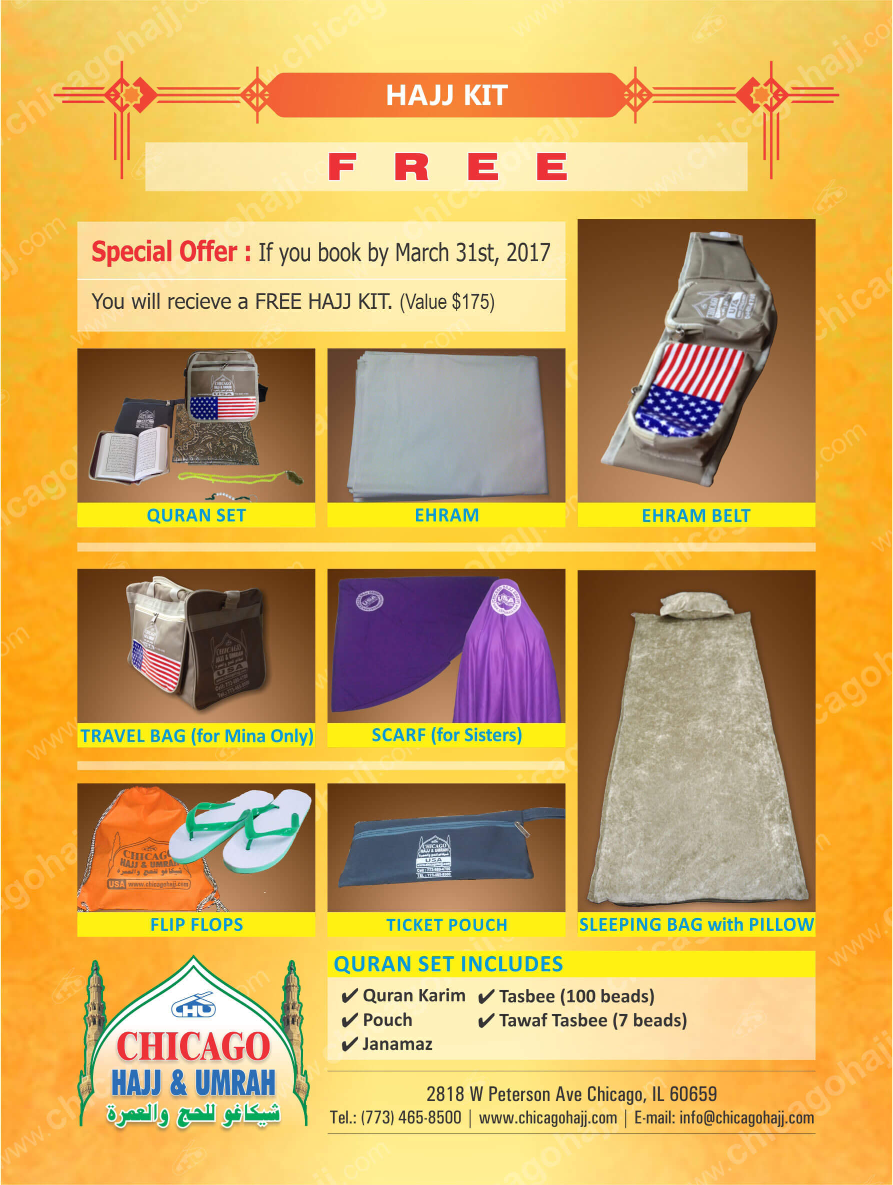 Special Offer! Book Hajj package now and qualify for Free