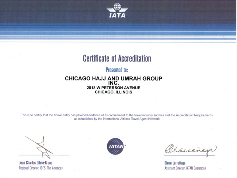 IATA Certification